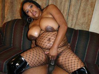 Fat black slut